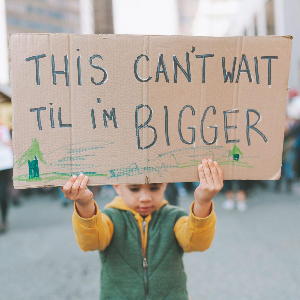 This can't wait til I'm bigger sign